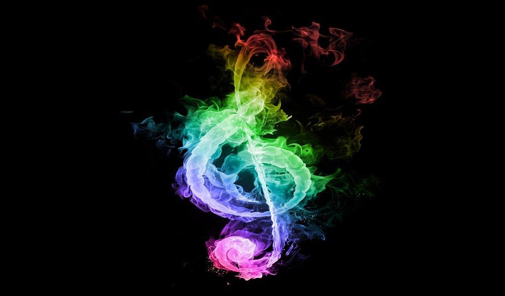 8589130490590 Rainbow Music Notes Wallpaper Hd Jpg: Kapcsold Ki A Fejedben Gurgulázó Gondokat: Zenével